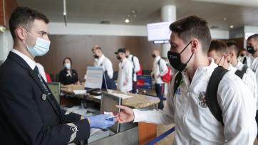 Игроки сборной России сдали тест на коронавирус
