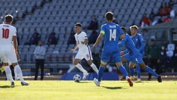 Англия на выезде с трудом обыграла Исландию