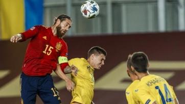 Лига наций. Испания вынесла Украину, Германия потеряла очки в матче со Швейцарией