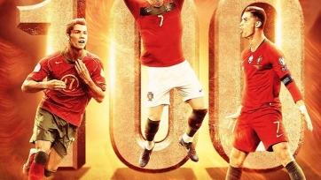 Роналду забил 100-й гол в форме сборной Португалии. Видео
