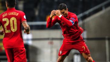 100 голов Роналду за сборную: голова доминирует над левой ногой