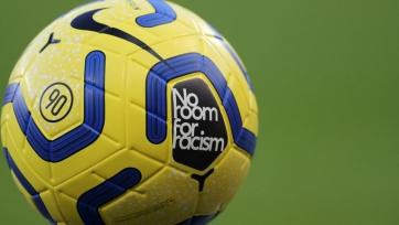 Английские клубы в новом сезоне будут играть в форме с патчем «Нет места расизму»