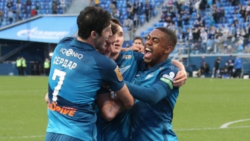 «Зенит» уже 25 матчей дома без поражений