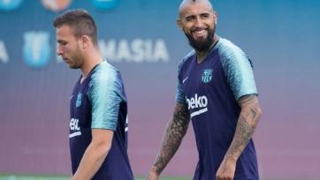Видаль забрал личные вещи с клубной базы «Барселоны»