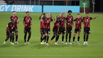 «Борнмут» и «Кристал Пэлас» разыграли роскошную серию пенальти в матче 3-го раунда Кубка лиги
