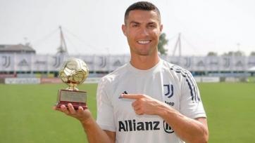 Роналду получил приз лучшего бомбардира по версии IFFHS