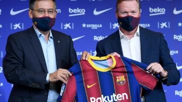 Бартомеу: «Куман в «Барселоне» на долгие годы»