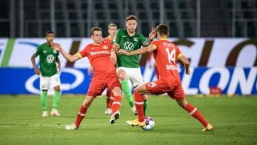 Чемпионат Германии. «Вольфсбург» и «Байер» обошлись без голов