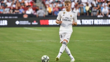 Эдегор вернулся к тренировкам «Реала»