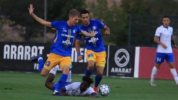 Армянский «Арарат-Армения» вышел в плей-офф раунд Лиги Европы. Видео