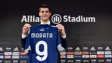 Мората определился со своим игровым номером в «Ювентусе»