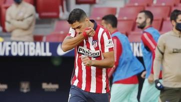 Суаресу хватило 15 минут для премьерного гола за «Атлетико». А далее получился дубль. Видео