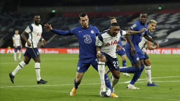 «Тоттенхэм» прошел «Челси» в рамках Кубка английской лиги, обыграв соперника в серии послематчевых пенальти