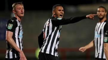 «Ньюкасл» едва прошел клуб из четвертого дивизиона в Кубке лиги