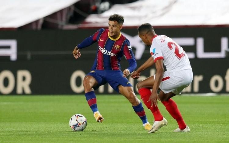 «Барселона» – «Севилья» – 1:1. 04.10.2020. Обзор и видео матча