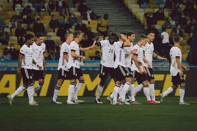 Украина - Германия - 1:2. Текстовая трансляция матча