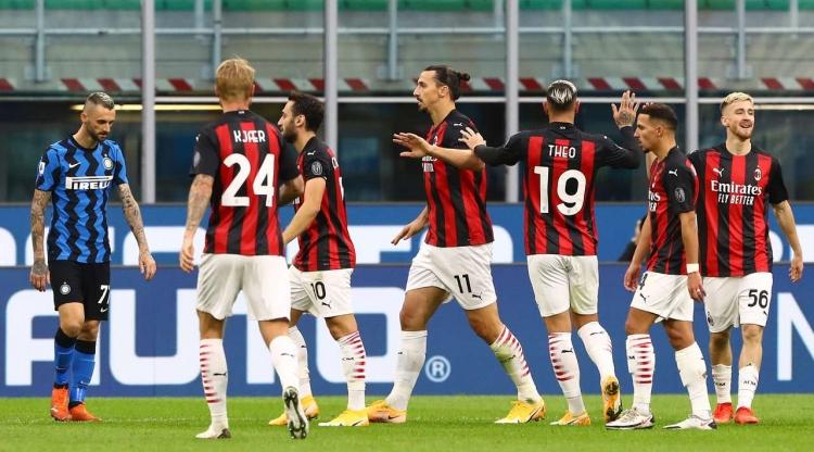 «Милан» благодаря дублю Ибрагимовича выиграл дерби у «Интера»