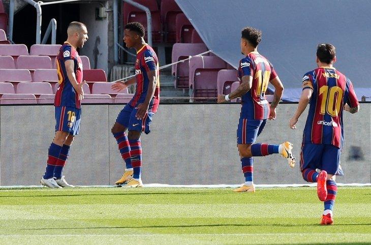 «Барселона» - «Реал» - 1:3. Текстовая трансляция матча
