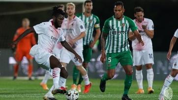 «Милан» лишь по пенальти прошел «Риу Аве» на пути в группу Лиги Европы