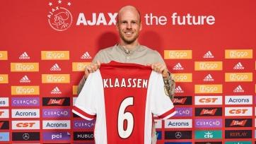 Классен вернулся в «Аякс»