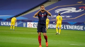 Жиру отметился голом в своем 100-м матче за сборную Франции. Видео