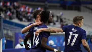 Франция вынесла Украину в товарищеском матче, забив семь мячей