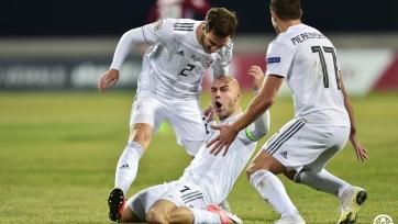 Грузия обыграла Беларусь и вышла в следующий раунд квалификации чемпионата Европы
