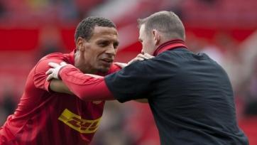 Руни и Фердинанд могут выйти друг против друга на ринг