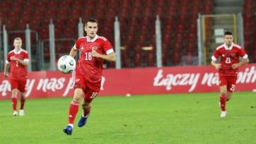 Россия U21 разгромила ровесников из Эстонии в отборе ЧЕ-2021