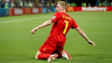 Де Брюйне избежал серьезной травмы в матче за сборную