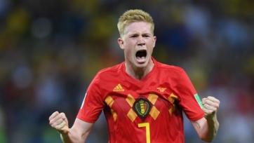 Бельгия лишилась Де Брейне на матч с Исландией