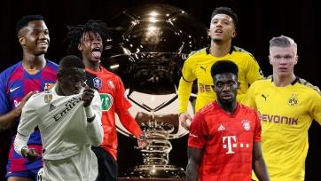 Объявлен итоговый список номинантов на премию Golden Boy-2020
