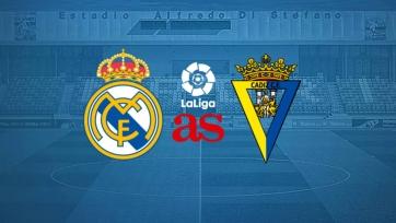 «Реал» Мадрид – «Кадис». 17.10.2020. Где смотреть онлайн трансляцию матча