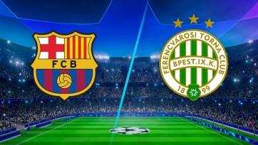 «Барселона» – «Ференцварош». 20.10.2020. Где смотреть онлайн трансляцию матча