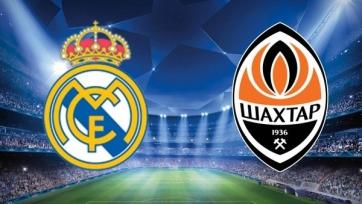 «Реал» Мадрид – «Шахтер» Донецк. 21.10.2020. Где смотреть онлайн трансляцию матча