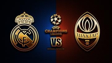 «Реал» Мадрид – «Шахтер» Донецк. Составы на матч