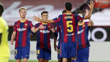«Барселона» намерена продлить контракты еще с тремя игроками