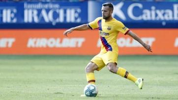 Альба вернулся в состав «Барселоны» после травмы