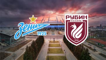 «Зенит» – «Рубин». 24.10.2020. Где смотреть онлайн трансляцию матча