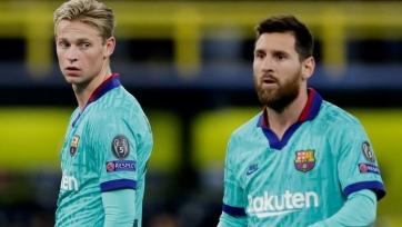 Де Йонг: «Месси – лучший в мире, и это – преимущество для «Барселоны»