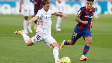 Модрич провел юбилейную игру в составе «Реала»