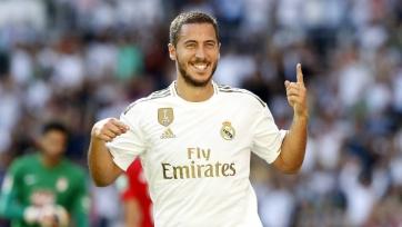 Азар впервые попал в заявку «Реала» в текущем сезоне
