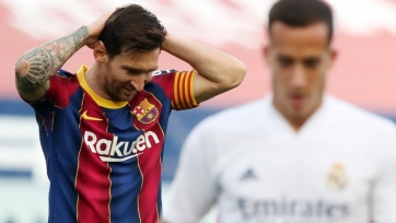 Верон: «Игра в «Барселоне» переходного периода доставляет Месси дискомфорт»