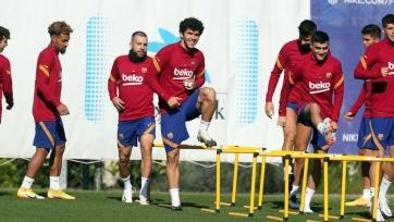 «Барселона» огласила заявку на поединок с «Ювентусом»