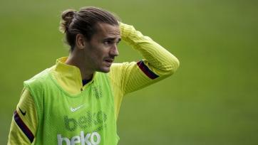 Гризманн не совершает результативных действий за «Барселону» уже шесть матчей