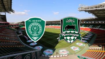 «Ахмат» – «Краснодар». 31.10.2020. Где смотреть онлайн трансляцию матча