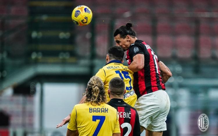 «Милан» - «Верона» - 2:2. 08.11.2020. Обзор и видео матча