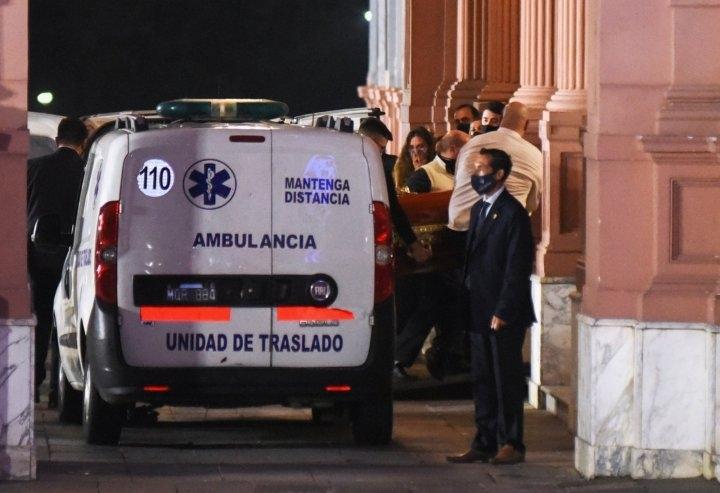 Аргентина готовится к прощанию с Марадоной. Фото