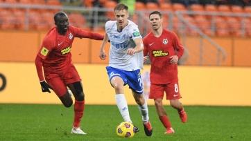 «Динамо» в большинстве вырвало победу у «Тамбова»