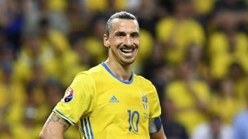 Ибрагимович намекнул на желание вернуться в сборную Швеции. Фото